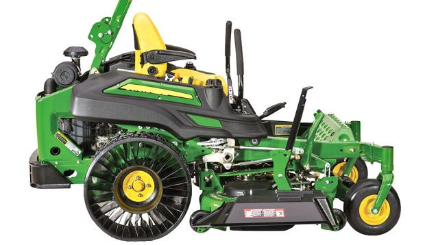John Deere's New Ride-On Mower Is One of the First To Have Airless Tires