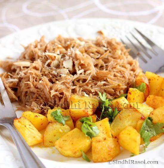 Seyun Patata|Sweet vermicelli with Potatoes - Sindhi Rasoi |Sindhi Recipes