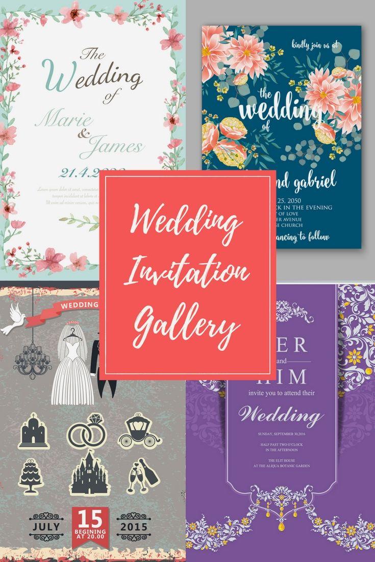 The 15 best free wedding invitation samples images on Pinterest ...