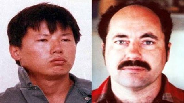 Charles Ng and Leonard Lake A Chinese-American serial killer, Charles Ng is believed to have raped, tortured and murdered between 11 and 25 victims with his accomplice Leonard Lake at Lake's ranch in Calaveras County, California. They filmed themselves raping and torturing their victims. Their crimes became known in 1985 when Lake committed suicide after being arrested and Ng was caught shoplifting at a hardware store.
