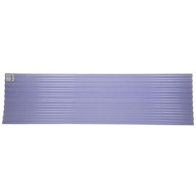 Tuftex SeaCoaster 96-in x 26-in Corrugated PVC Roof Panel