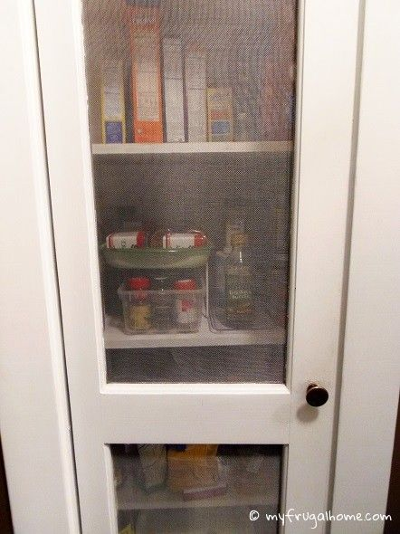My Newly Reorganized Pantry