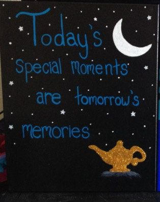 18 x 20 Genie Quote Canvas by TheLoveOfCanvas on Etsy