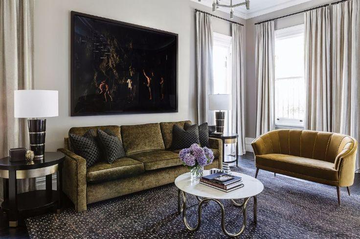 Trendiest Modern Sofas This Fall According To Pantone's Color Report   Velvet Sofas. Yellow Sofa. #velvetsofas #modernsofas #Pantone Read more: http://modernsofas.eu/2016/09/06/trendiest-modern-sofas-fall-according-pantones-color-report/