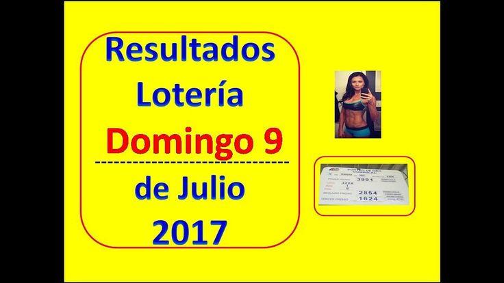 Resultados Sorteo Domingo 9 de Julio de 2017 Loteria Nacional Panama Que Jugo Domingo 9 de Julio