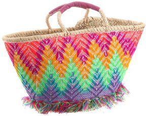 ShopStyle(ショップスタイル): [ファティマ モロッコ] Fatima Morocco ミカ刺繍バスケット 12SS-NOV08  PK