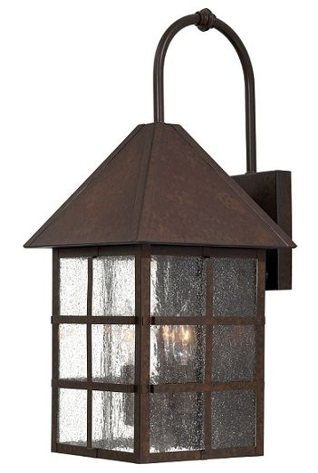 Townsend Rust Lg. Ext. Wall Light. Coastal LightingOutdoor ...