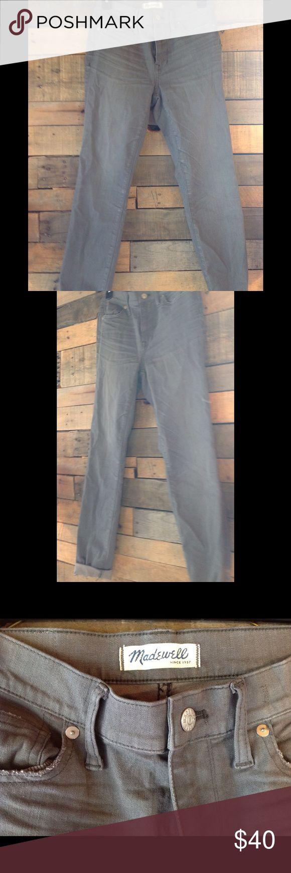 ON SALE: Madewell grey boyfriend jeans Grey Madewell boyfriend fit jeans | Never worn Madewell Jeans Boyfriend