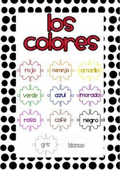 colores spanish colors go fish