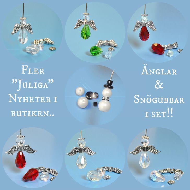 Pärlor och smyckestillbehör för dig som vill göra egna smycken