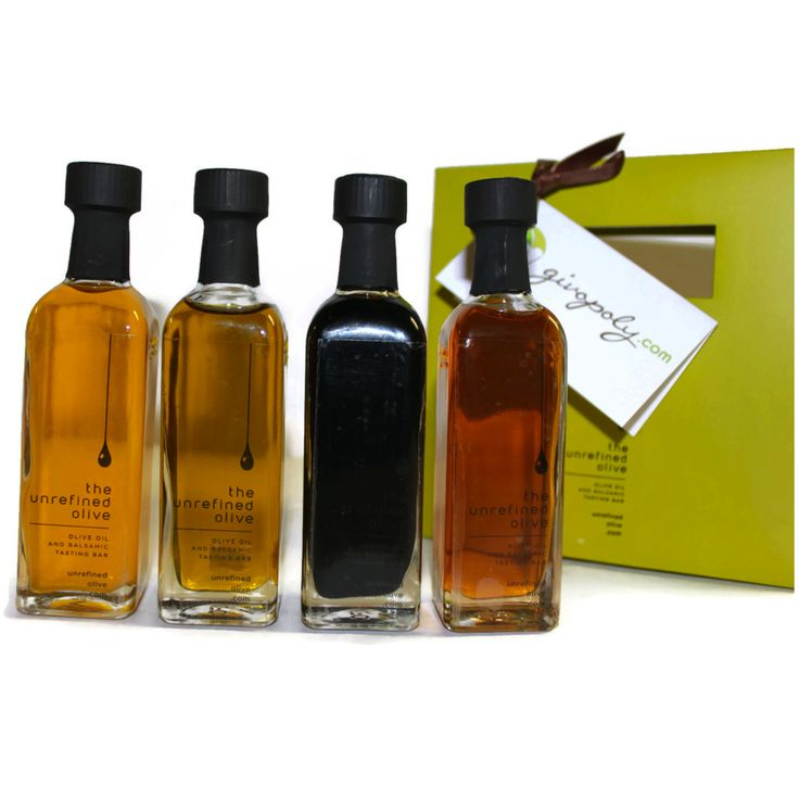 Unrefined Olive Gift Package. Unrefined Olive, in the Glebe, Ottawa.
