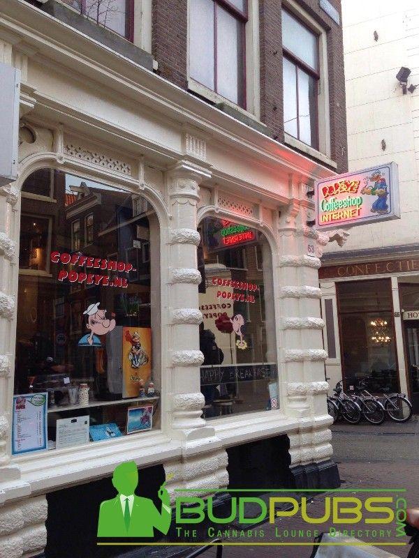 Popeye Coffeeshopis a Classic Amsterdam Weed Smokers Delight #Amsterdam #CoffeeshopPopeye #Netherland #Cannabis #Coffeeshop #Weed #Marijuana #BudPubs #THC