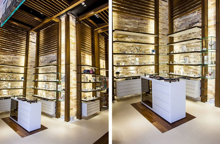 Shopping Galleria Campinas SP Brazil, Concept Design for the first store.
