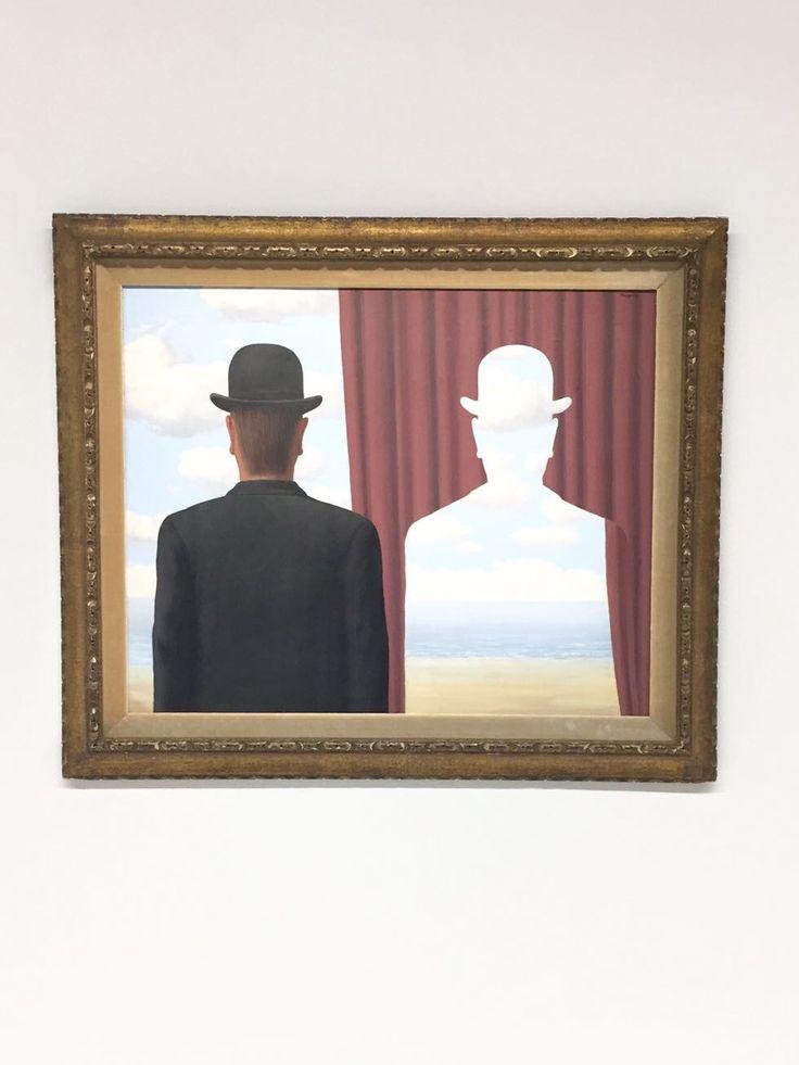 Magritte, La trahison des images, @Pompidou Paris