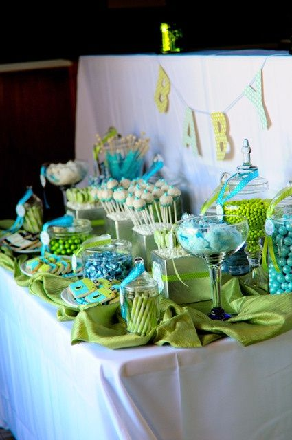 Id es de d co pour une baby shower party babies and babyshower - Idee deco baby shower ...