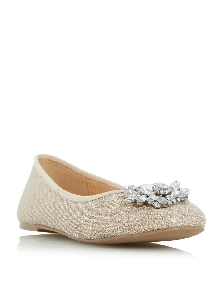 Buy your Head Over Heels Hiya Brooch Trim Ballerina Flat Shoe online now at House of Fraser. Why not Buy and Collect in-store?