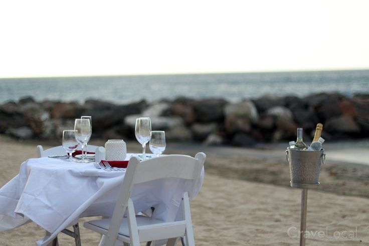 Enjoy Your Vacation With Private Dinning On The Beach