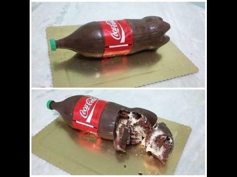 E' la ricetta tormentone del moneto, un'idea davvero semplice e sbalorditiva: torta coca cola ripiena. La torta coca cola ripiena è una