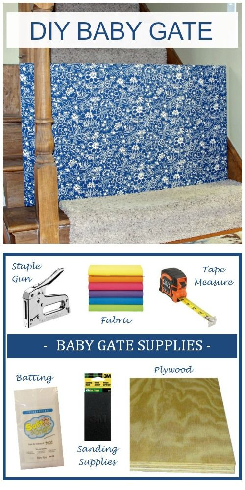 Bottom of Stairs, Baby Gate, Custom Baby Gate, DIY Fabric Baby Gate, Removable Baby Gate, Easy Baby Gate, Safety Gate, Dog Gate, Pet Gate, DIY Baby Gate, Cheap Baby Gate