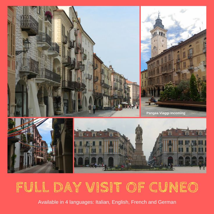 Full day guided tour (in Italian, English, French an German)