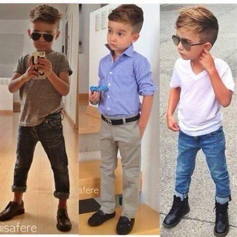 d2a302a7a4 If I have a son he will dress like this so cute! Ropa ...