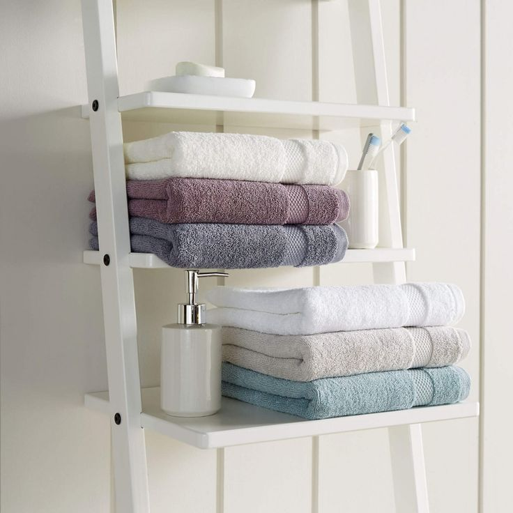 Christy Bamford 650gsm Egyptian Cotton Towels - Spa Blue - Muted, Neutral Bathroom Towels