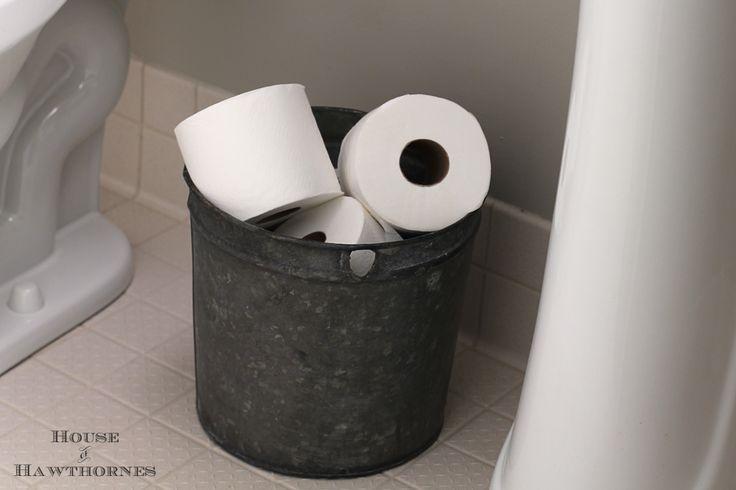 26 Best Toilet Paper Storage Images On Pinterest