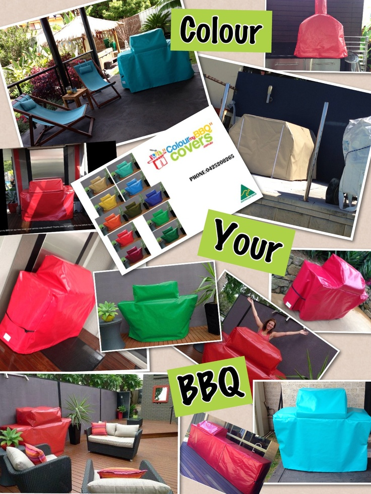 Colour my BBQ covers