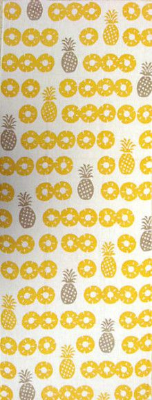 Japanese washcloth, Tenugui パイナップル pineapples