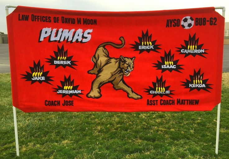 A Perfectionist's Guide to the DIY Soccer Banner