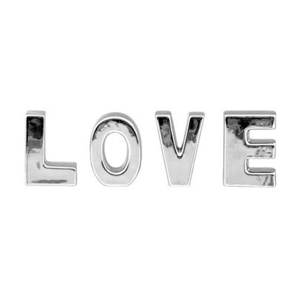 IN LOVE LETRAS DECORATIVAS ($31) ❤ liked on Polyvore featuring text, backgrounds, words, phrase, quotes and saying