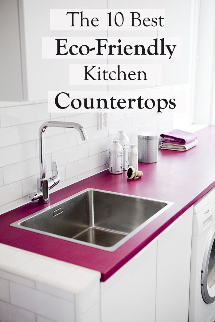 When I was renovating my apartment, I wanted to make everything as eco-friendly as possible. In the kitchen, I chose cabinets with non-toxic finishes, but I wasn't sure how to choose sustainable countertops. I was pretty stressed out, so I decided to just get a remnant, the leftover from a piece of stone that had already been cut from someone else. It was a lot more affordable, and using the leftovers is sustainable, right? (See the before/after pictures of my kitchen renovation.) So whe...