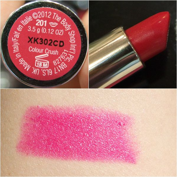 The Body Shop 201 Red Hot Raspberry
