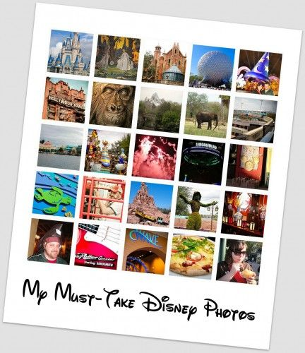 It would be fun to do a Disney photo scavenger hunt when the grandkids are older.