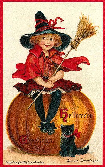 Vintage Halloween | Vintage Halloween Postcards | Flickr - Photo Sharing!