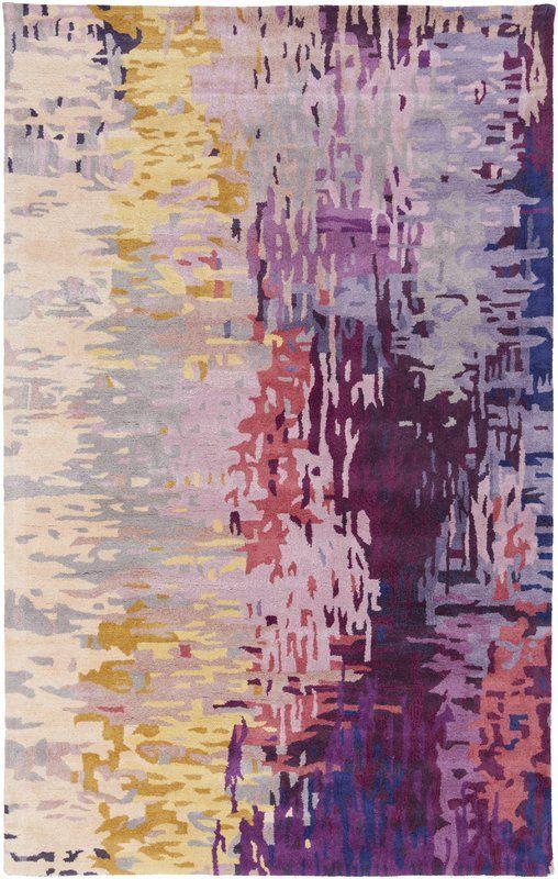 8x11' Demosthenes Purple Area Rug #AreaRugsStyles