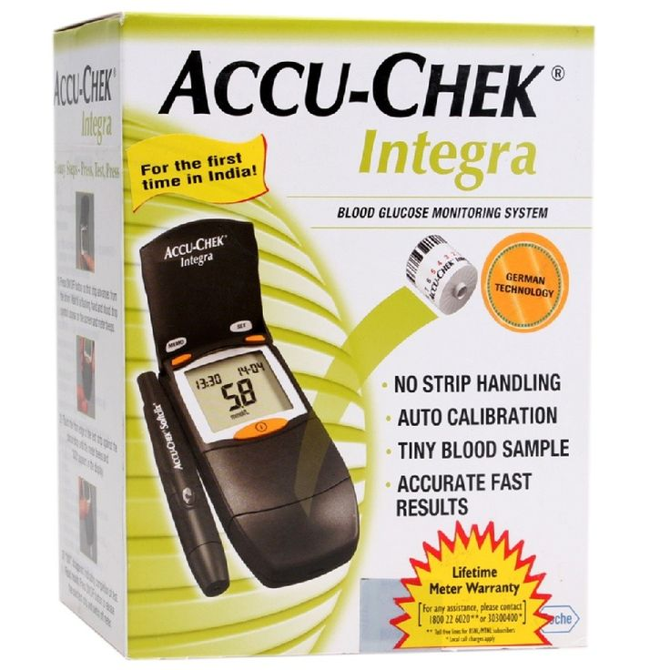 Accu-Chek Integra Buy Online at Best Price in India: