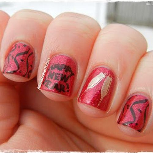 New Years Nail Polish: 1000+ Ideas About New Year's Nails On Pinterest
