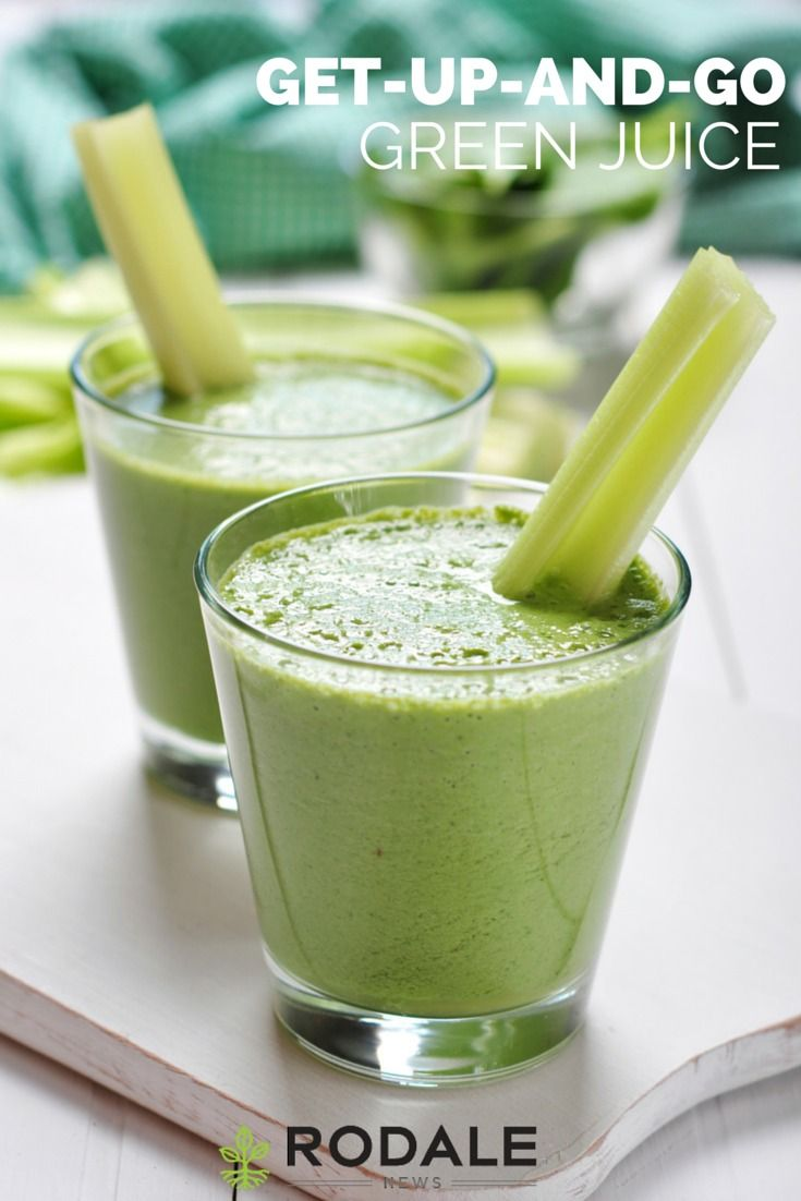 Replace caffeine jitters and a coffee crash with nutritious, green juice.