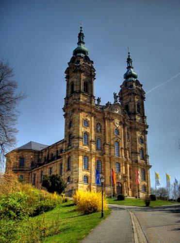 Vierzehnheiligen - die Kirche meiner Jugend, wie oft habe ich dies schöne Basilika besucht..unzählbar...