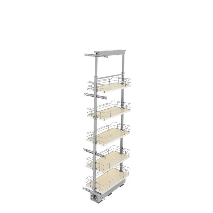 Hardware Resources Ppo2 848 Wood 8 1 2 Inch Wide By 48 Inch Tall Cabinet Pull Out Shelves In 2020 Adjustable Shelving Rev A Shelf Pantry Cabinet