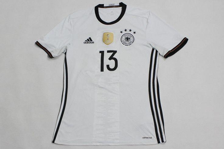 ADIDAS GERMANY FIFA WC 2014 SHIRT JERSEY TRIKOT CAMISETA MAGLIA  MULLER #13 S  #adidas #Germany