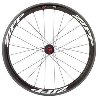 Pair of Zipp Firecrest Carbon Tubular Wheels