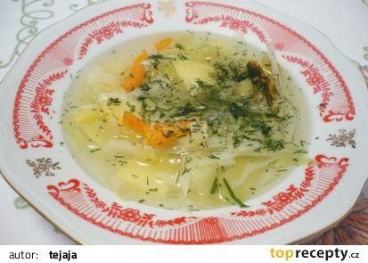 Francouzská zeleninová polévka recept - TopRecepty.cz