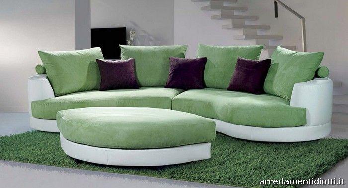 Oltre 25 fantastiche idee su divano verde su pinterest - Divano verde petrolio ...