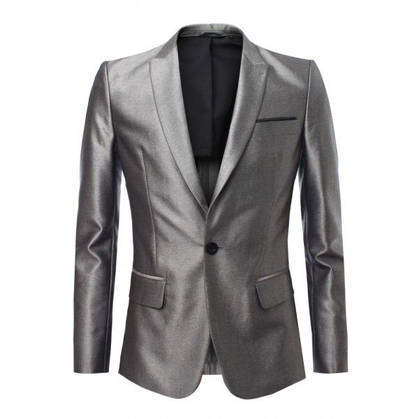 Shiny Grey Suit Combinations