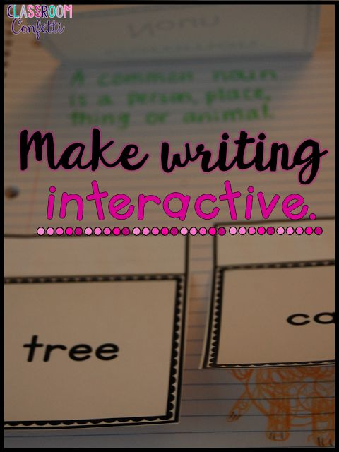 Classroom Confetti: 5 Ways to Make Writing FUN! Narrative, opinion, informative and how to writing prompts using the writing process! Free ideas to make writing fun in your classroom!
