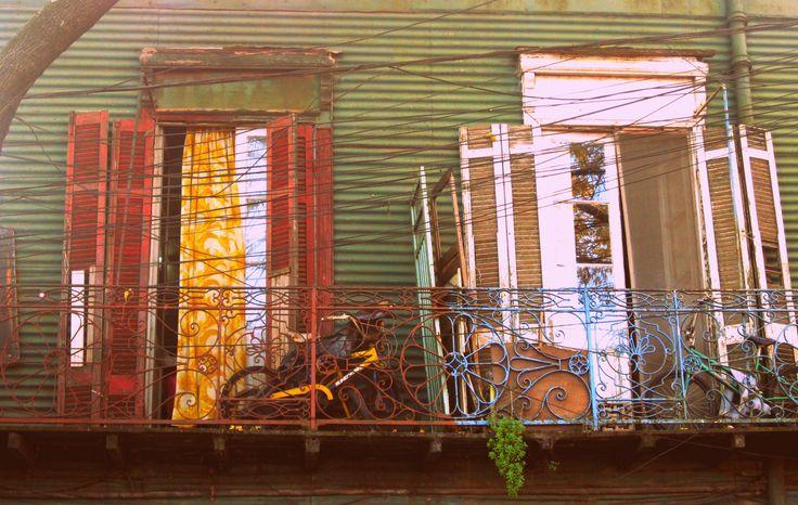Las ruinas, Buenos Aires, La Boca district  Argentina