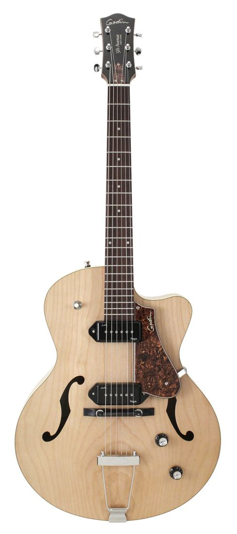 Godin 5th Avenue CW Kingpin II Natural | Rainbow Guitars