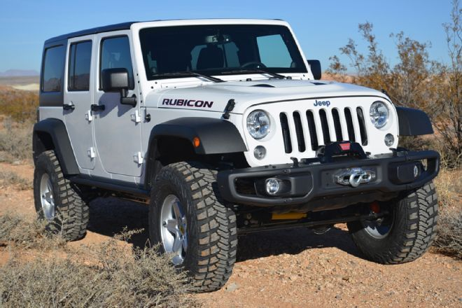 Project Simple, our 2014 Jeep Wrangler Unlimited Rubicon X is a sleeper built for highway and backcountry exploring and works perfectly. Dakota Customs built the Jeep in a day once it arrived at their dealership. See the full build right here in 4 Wheel Drive & Sport Utility Magazine!